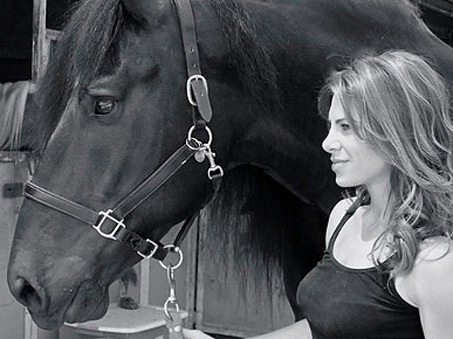 Show Horse Gallery - Jillian Michaels likes Horses? Who Knew…